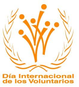 Logo dia internacional de los voluntarios