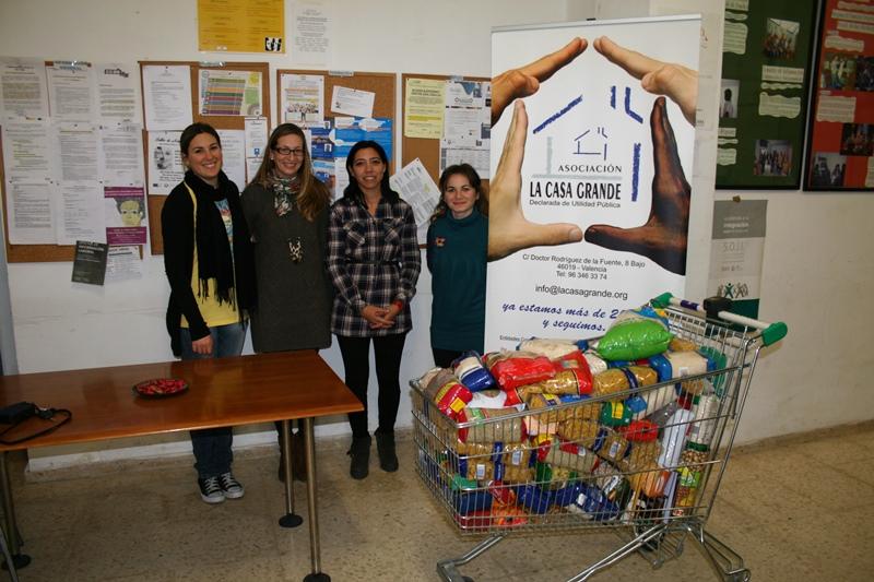 Donación alimentos SADA