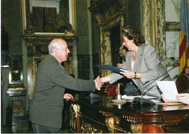 Entrega premio Valencia se solidariza