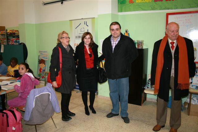 Visita de la Directora General de Participación Ciudadana Dña Maria Barrios